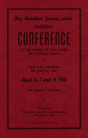 Music from April 1956 General Conference (1956)
