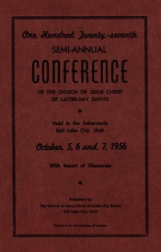 Music from October 1956 General Conference (1956)