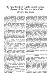 Music from April 1957 General Conference (1957)