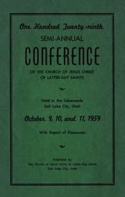 Music from October 1959 General Conference (1959)