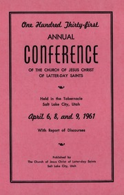 Music from April 1961 General Conference (1961)
