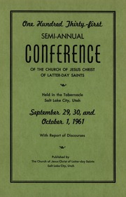 Music from October 1961 General Conference (1961)