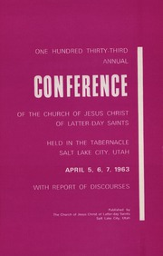 Music from April 1963 General Conference (1963)