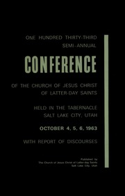 Music from October 1963 General Conference (1963)