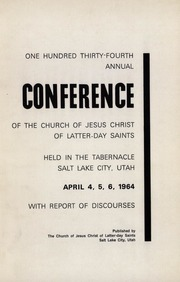 Music from April 1964 General Conference (1964)