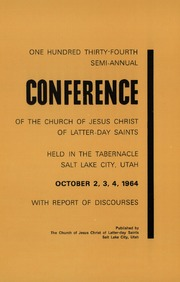 Music from October 1964 General Conference (1964)