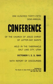 Music from October 1965 General Conference (1965)