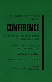 Music from April 1966 General Conference (1966)