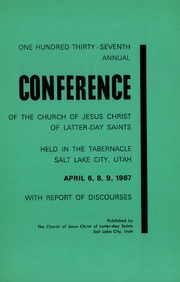 Music from April 1967 General Conference (1967)