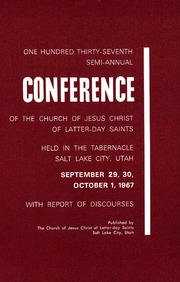 d1435297 Conference reports of The Church of Jesus Christ of Latter-day ...