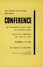 Music from October 1972 General Conference (1972)