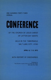 Music from April 1973 General Conference (1973)