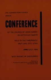 Music from April 1974 General Conference (1974)