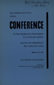 Music from April 1975 General Conference (1975)