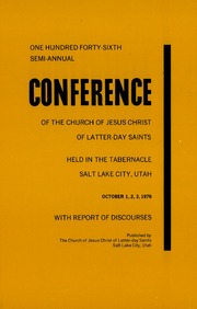 Music from October 1976 General Conference (1976)
