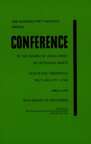 Music from April 1977 General Conference (1977)