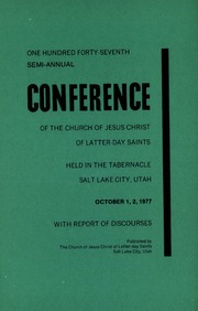 Music from October 1977 General Conference (1977)