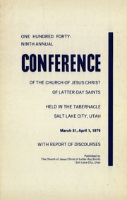 Music from April 1979 General Conference (1979)
