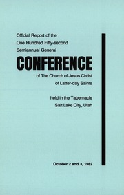 Music from October 1982 General Conference (1982)