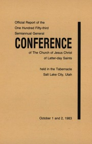 Music from October 1983 General Conference (1983)
