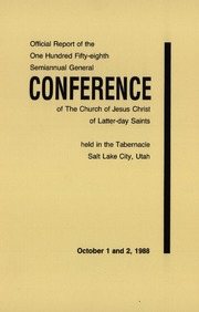 Music from October 1988 General Conference (1988)