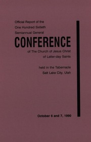Music from October 1990 General Conference (1990)