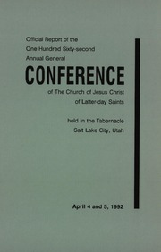 Music from April 1992 General Conference (1992)