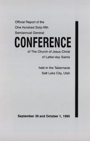 Music from October 1995 General Conference (1995)