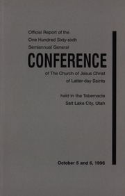 Music from October 1996 General Conference (1996)