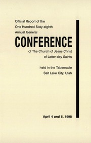 Music from April 1998 General Conference (1998)