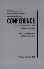 Music from October 1999 General Conference (1999)