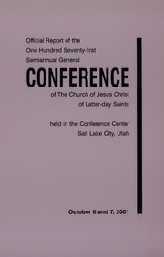 Music from October 2001 General Conference (2001)