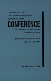 Music from October 2002 General Conference (2002)