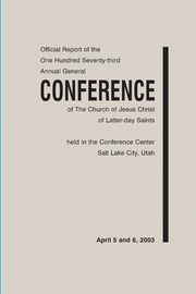 Music from April 2003 General Conference (2003)
