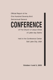 Music from October 2003 General Conference (2003)