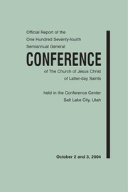 Music from October 2004 General Conference (2004)