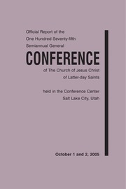 Music from October 2005 General Conference (2005)