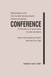 Music from October 2007 General Conference (2007)