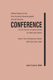 Music from April 2008 General Conference (2008)