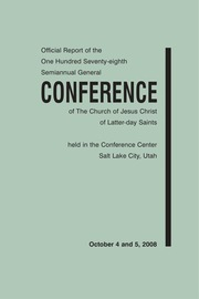 Music from October 2008 General Conference (2008)