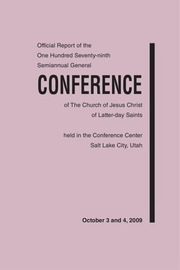 Music from October 2009 General Conference (2009)