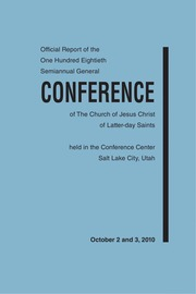 Music from October 2010 General Conference (2010)