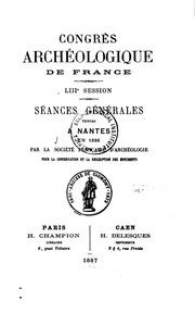 Vol 71: Congrès archéologique de France : proceedings