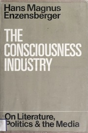 the consciousness industry