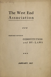 Constitution and by-laws : ...