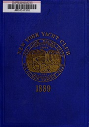 Constitution, by-laws, sailing regulations, & etc. of the New York Yacht Club