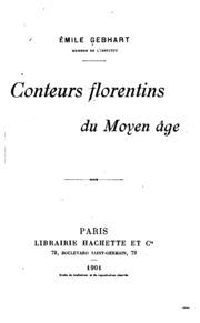 Conteurs florentins du moyen âge