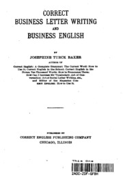 business letter english