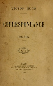 Vol 2: Correspondance