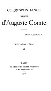 Correspondance inédite de La Fayette, 1793-1801: lettres de prison-lettres d-exil